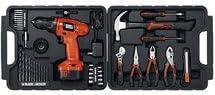 Black & Decker 12v Drill Tool Accessory Kit