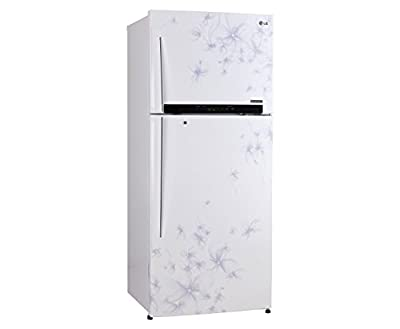LG GL-M472GDWL Frost free Double-door Refrigerator (420 Ltrs, 4 Star Rating, Daffodil White)