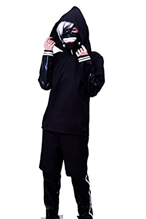 Amazon.com: Lemail Wig® Kaneki Ken Comic characters Battle