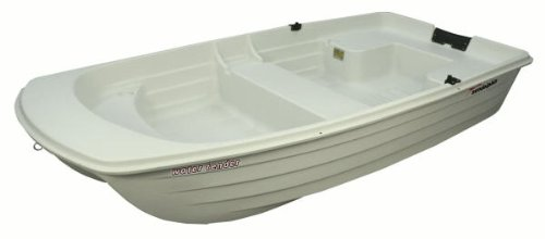 Sun Dolphin WaterTender 9.4 Dinghy Fishing Row 2 Person Boat w/ Motor Mount (Row Boat Motor compare prices)