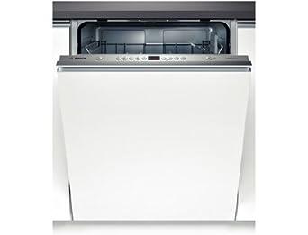 Bosch SMV53L30EU lave-vaisselle - laves-vaisselles (Entièrement intégré, A, A+, Acier inoxydable, boutons, Auto 45-65 ºC, Économie, Intensif, Pré-lavage, Rapide)