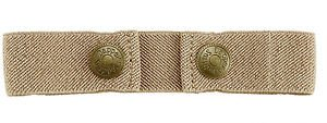 Dapper Snapper Baby & Toddler Adjustable Belt (Beige)