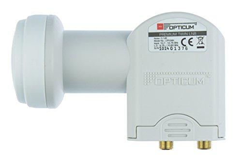 Opticum Twin LNB - LTP-04H - contacts plaqués (Full HD, 3D)