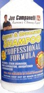 Joe Campanelli's Carpet and Upholstery Shampoo Professional Formula [Kitchen]