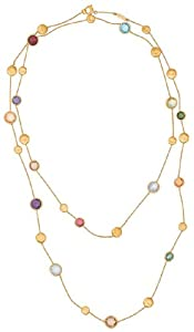 Marco Bicego Jaipur Color Necklace with Semi Precious Colored Stones