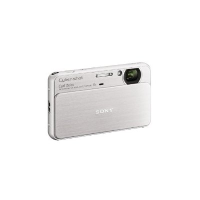 Sony T Series DSC-T99 14.1 Megapixel DSC Camera with Super HAD CCD Image Sensor (Silver)