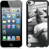 James Dean And Marilyn Monroe 1 Black Shell Case Fit for iPod Touch 5,Durable Cover (James Dean Ipod 5 Case compare prices)