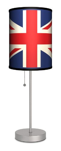 Travel - Union Jack Sport Silver Lamp front-54847