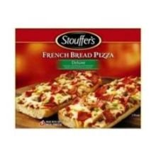 Stouffers French Bread Deluxe Pizza, 12.375 Ounce -- 10 Per Case.