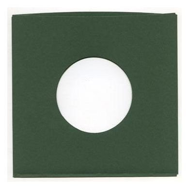 "7"" Old-Style Green Sleeves (10 Units) - 1"