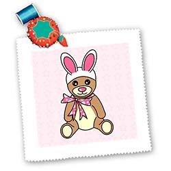 Easter Cute Easter Teddy Bear  Bunny Ears - 25x25