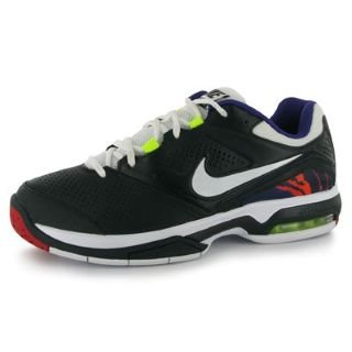 Nike Air Max Challenge Mens Tennis Shoes Black/White 12 UK UK