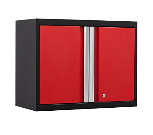 NewAge Products 52200 Pro 3.0 Series Wall Cabinet, Red (Newage Cabinets Pro compare prices)