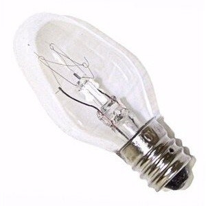 Triangle Bulbs (Pack Of 24) 4-Watt C7 Incandescent Night Light Bulbs, Clear, T20417, Crystal Clear(Pack Of 24)