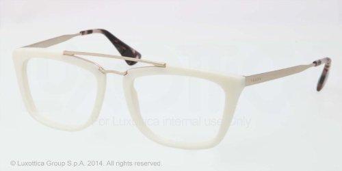 pradaPrada PR18QV Eyeglasses-7S3/1O1 Ivory-53mm