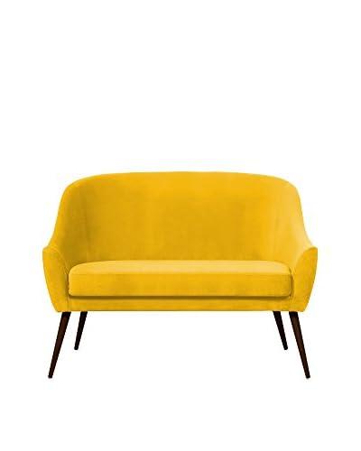 Hawke & Thorn Sofa Herman gelb