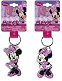 DDI - Minnie Mouse Lucite Shaped Key Chain Key Ring (1 pack of 48 items)