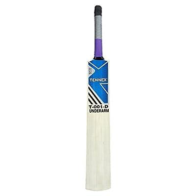 Tennex T-001 D Kashmir Willow Cricket  Bat (Short Handle, 800-1000 g)