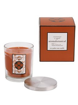 Aromabotanicals Cinnamon Apple Scented Palm Wax Candle Jar 10oz