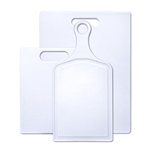 Farberware 3-Piece Assorted Poly Cutting Board Set (Farberware Poly Cutting Board compare prices)