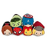Marvel Mini Tsum Tsum Plush Set of 6 Dolls for Sale