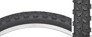 Kenda K831 Wire Bead Bicycle Tire, Blackwall, 24-Inch x 1.95-Inch