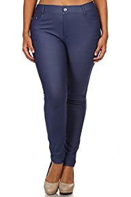 ICONOFLASH Women's Pull On Plus Size…