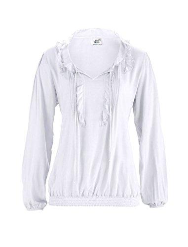 Alba Moda - Camicia - Opaco -  donna bianco 42
