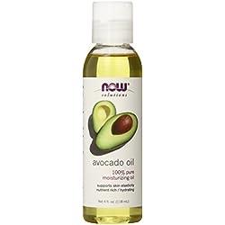 Now Foods Avocado Oil, Moisturizing 4 oz. (Edible)