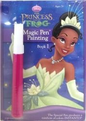 Invisible Ink Princess And The Frog Magic Pen Painting Book 1
