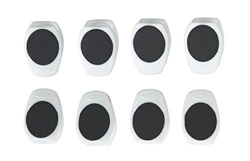 OXO Good Grips Magnetic Mini Clip 8 Pack, White