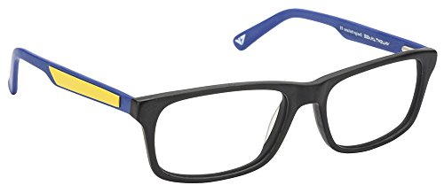 Vincent Chase VC 6468 Matte Black Blue Yellow C4 Eyeglasses(103800)