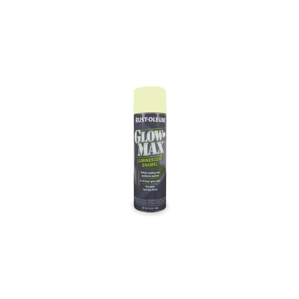 Rust Oleum 223886 Glow In The Dark Spray Paint Green 15 Oz