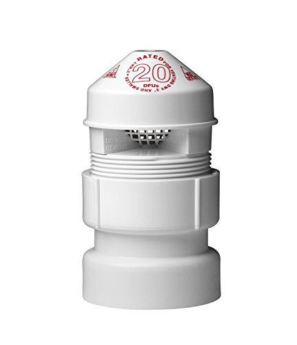 Oatey 39017 Sure-Vent Air Admittance Valve with 1-1/2-Inch by 2-Inch PVC Adapter Bulk Pack, 2-Inch (Pvc Pipe Air Valve compare prices)