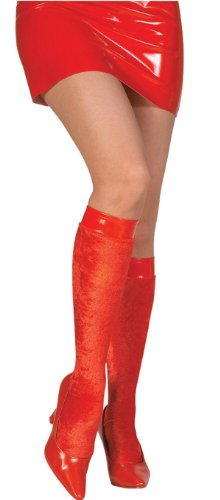 Rubie's Costume Co Red Velvet Knee Highs Costume