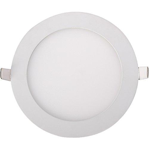 "Generic 3W Led Panel Light Round Ultra Slim Warm White 15 Smd2853 Ac110-265V 2.5"" Color White"