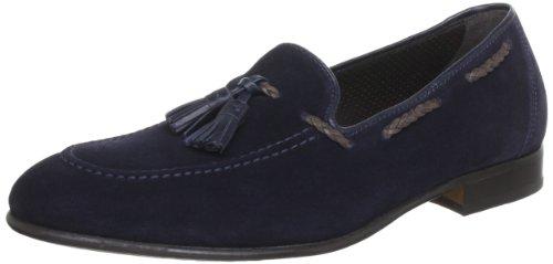 Lottusse Mens L6388 Moccasins Blue Blau (marino) Size: 9 (43 EU)