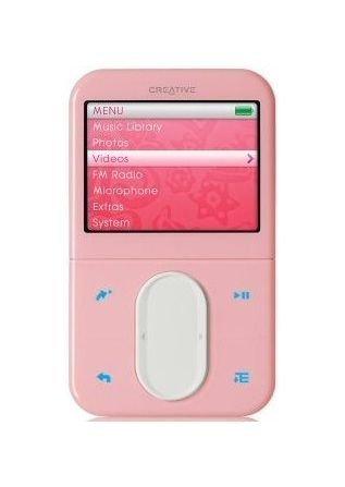 Creative ZEN Vision:M 30GB MP3 / Video Player - Pink