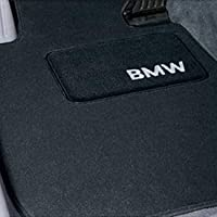 Bmw Carpeted Floor Mats- 2007-2012 328i 335i Convertibles Blk by bmw