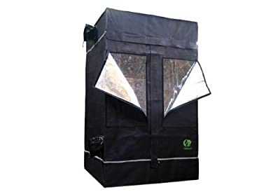 Indoor Grow Tent - 2 ft x 2 ft - Thermal Protected - Multiple Intake/Exhaust Ports - Waterproof Floor - GL60 by GrowLab by GrowLab
