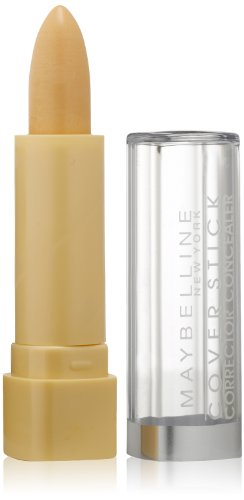 Maybelline New York Cover Stick Concealer, 190 Corrective Yellow