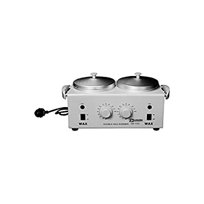 Professional Double Pot Hot Wax Warmer Heater SPA Hands Feet Wax Machine Health Care Get Free 2 Aluminium Kettle...