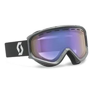 SCOTT US Fact Ski Goggles, Carbon Black, Illuminator Lens