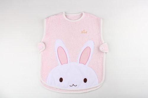 Dele Baby Supplies Newborn Baby Sleeping Bag Bamboo Fiber Cute Rabbit (Pink) front-703360