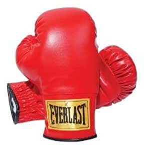Everlast Boxing Gloves, 8 Oz Each, (RED)