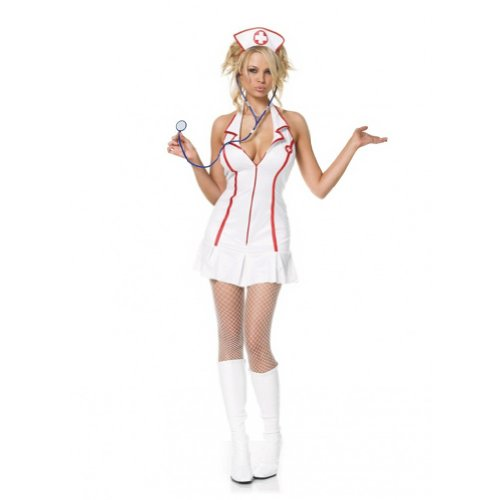 Head Nurse Costume - X-Large - Dress Size 14-16