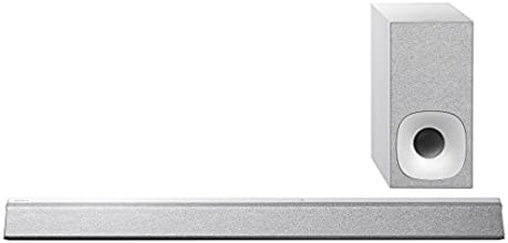 Sony HT-CT381 Silver 2.1 Channel Sound Bar with 4K Compatibility (300 W, S-Master, Clear Audio Plus, S-Force Pro, Dolby TrueHD, DTS-HD, Bluetooth and NFC)