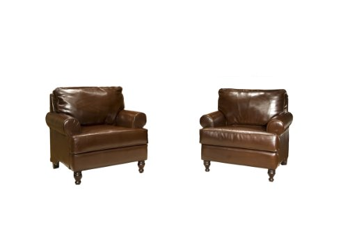 Furniture Living Room Furniture Club Chair Brown