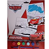 Disney Pixar Cars Color Paint Set