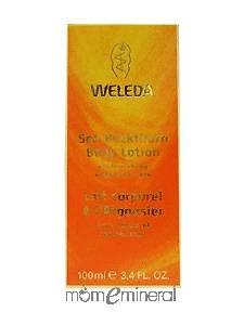 Sea Buckthorn Body Lotion 3.4 oz by Weleda Body Care